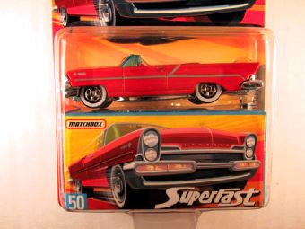 Matchbox Superfast 2006-2007, #50 1957 Lincoln Premiere