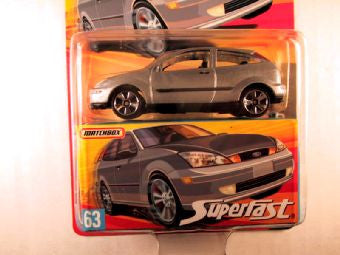 Matchbox Superfast 2006-2007, #63 Ford Focus