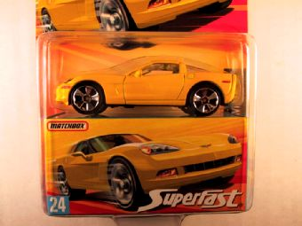 Matchbox Superfast 2006-2007, #24 Chevrolet Corvette C6