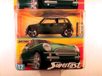 Matchbox Superfast 2006-2007, #12 Mini Cooper S