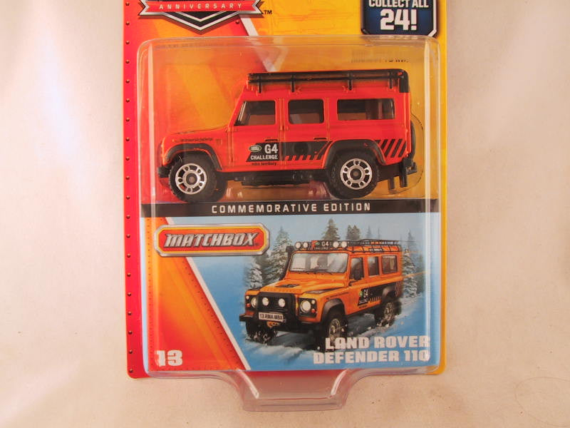 Matchbox 60th Anniversary, #13 Land Rover Defender 110