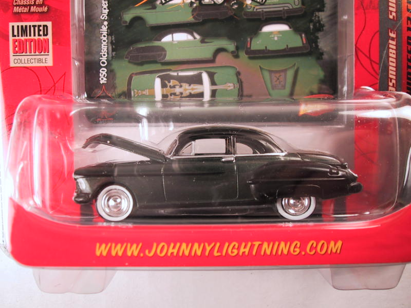 Johnny Lightning, Thirteen 13 Customs, Release 1, '50 Oldsmobile Super 88