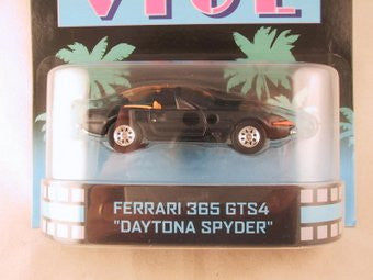 "Hot Wheels Retro Entertainment 2013, Miami Vice Ferrari 365 GTS4 ""Daytona Spyder"""