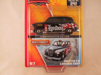 Matchbox 60th Anniversary, #07 Austin FX London Taxi
