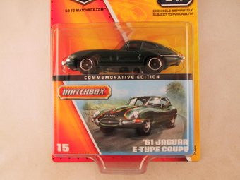 Matchbox 60th Anniversary, #15 '61 Jaguar E-Type Coupe