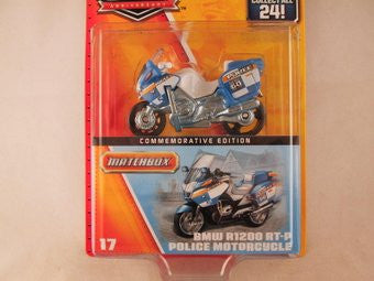 Matchbox 60th Anniversary, #17 BMW R1200 RT-P Police Motorcycle