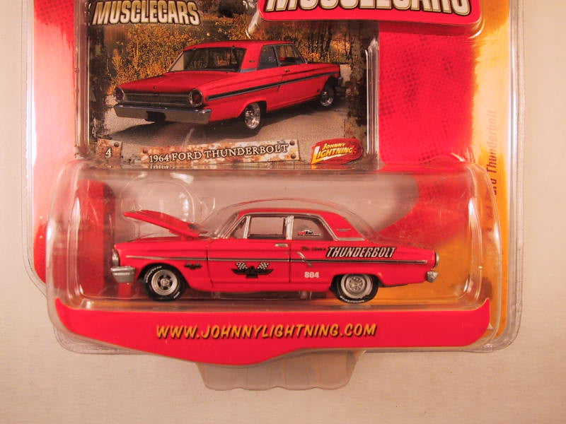 Johnny Lightning Muscle Cars, Release 17, '64 Ford Thunderbolt