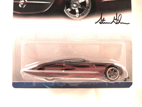 Hot Wheels Designers Challenge Ford Gangster Grin, Maroon