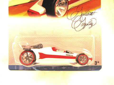 Hot Wheels Designers Challenge Honda Racer, White