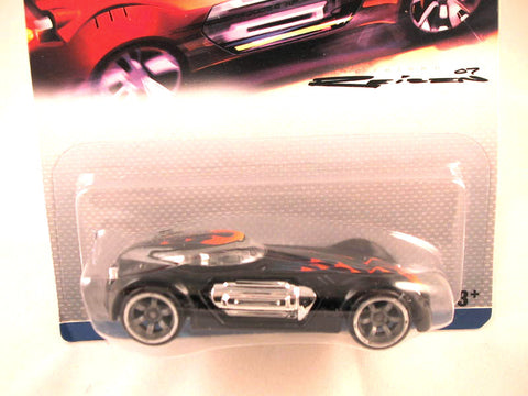Hot Wheels Designers Challenge Dodge XP-07, Black with Flames