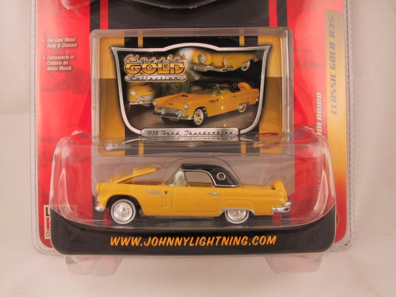 Johnny Lightning Classic Gold, Release 35, '56 Ford Thunderbird