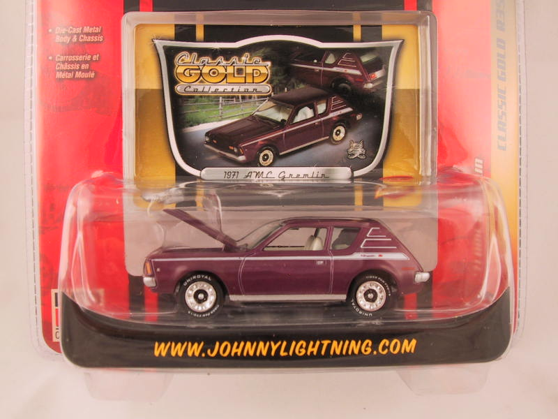 Johnny Lightning Classic Gold, Release 35, '71 AMC Gremlin