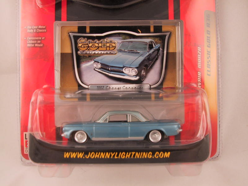 Johnny Lightning Classic Gold, Release 36, '62 Chevy Corvair Monza