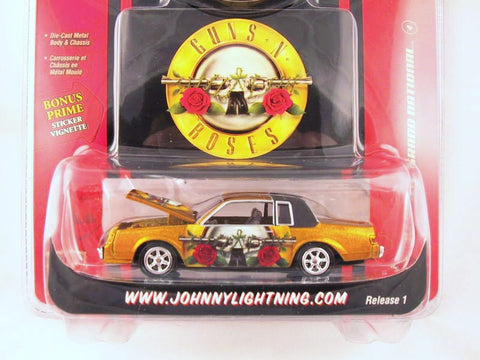 Johnny Lightning Rock Art, '87 Buick Grand National, Guns N Roses