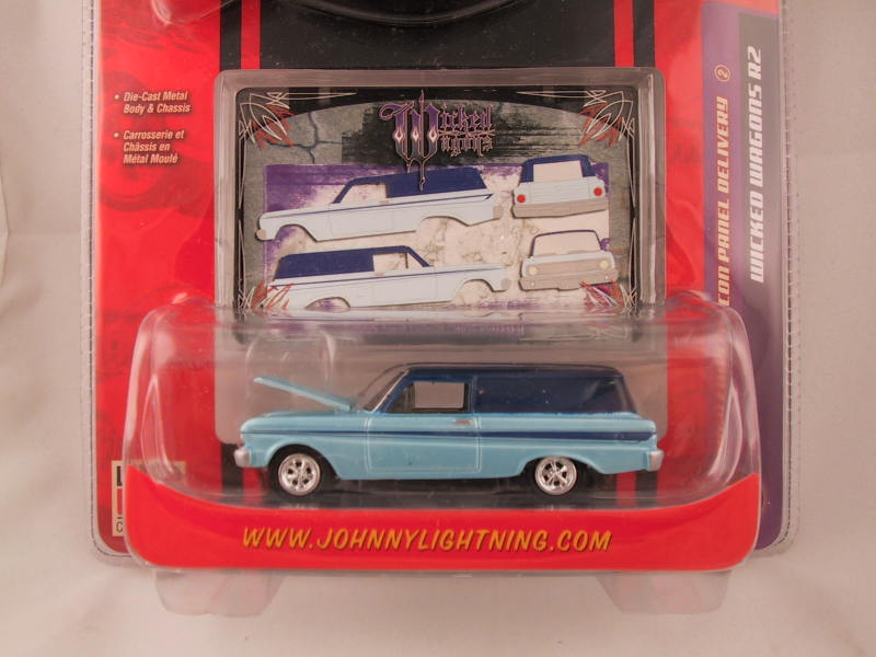 Johnny Lightning, Wicked Wagons, Release 2, 1964 Ford Falcon Panel Delivery