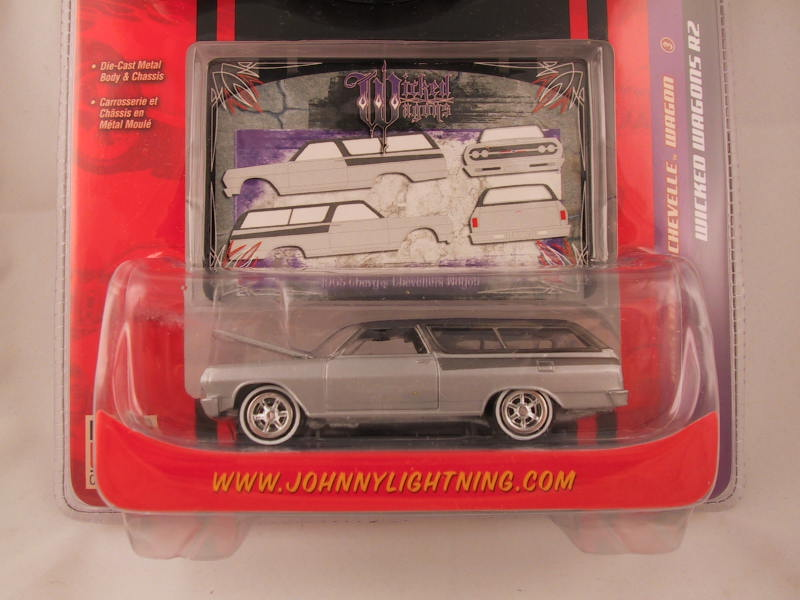 Johnny Lightning, Wicked Wagons, Release 2, 1965 Chevy Chevelle Wagon