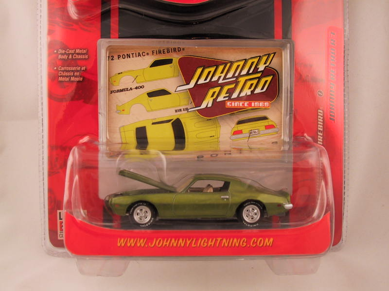 Johnny Lightning, Johnny Retro, Release 3, '72 Pontiac Firebird