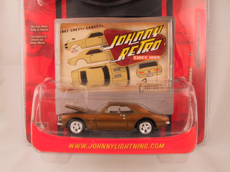 Johnny Lightning, Johnny Retro, Release 3, '67 Chevy Camaro
