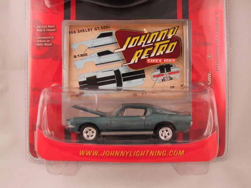 Johnny Lightning, Johnny Retro, Release 3, '68 Shelby GT-500