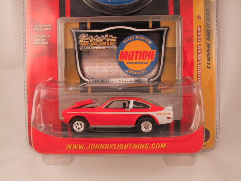 Johnny Lightning Classic Gold, Release 37, '71 Baldwin Motion Chevy Vega