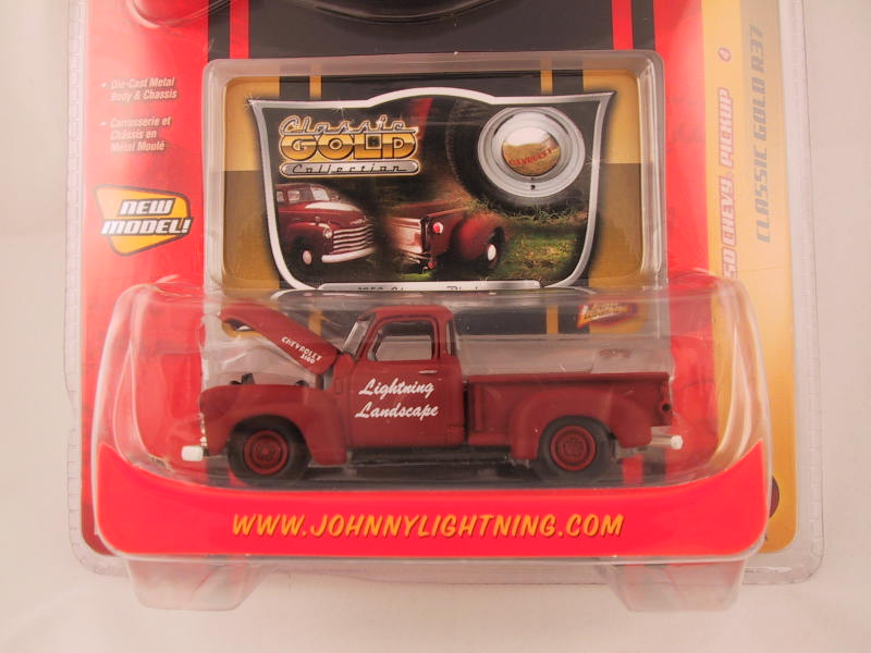 Johnny Lightning Classic Gold, Release 37, '50 Chevy Pickup