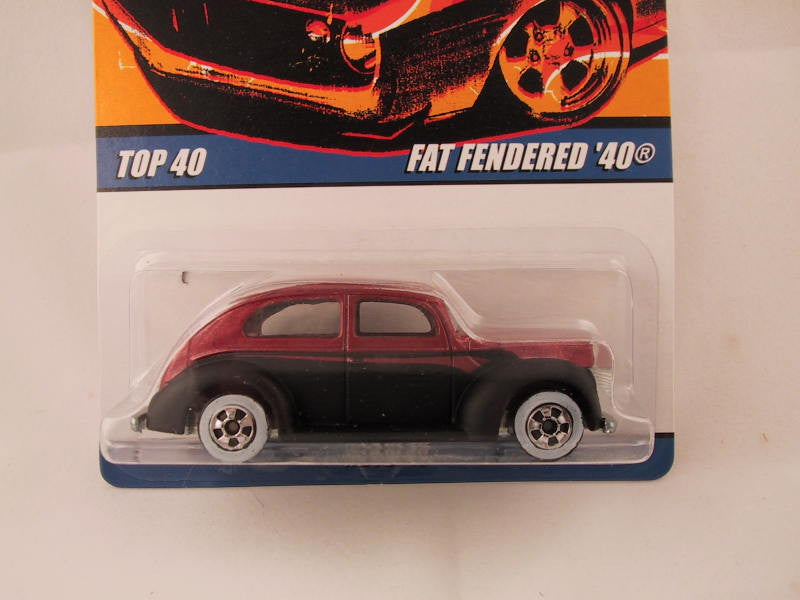 Hot Wheels Since '68 Top 40, Fat Fendered '40