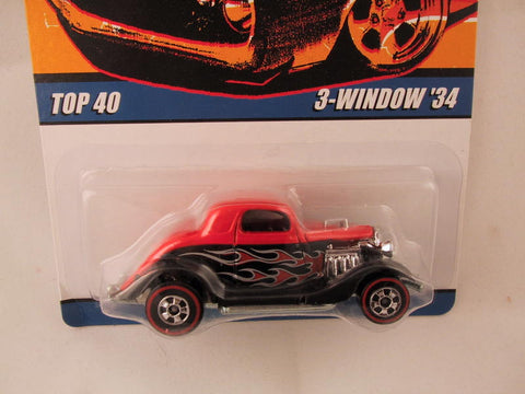 Hot Wheels Since '68 Top 40, 3-Window '34