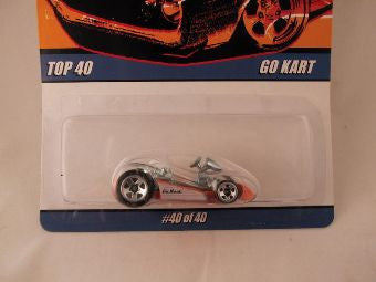 Hot Wheels Since '68 Top 40, Go Kart