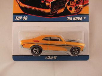 Hot Wheels Since '68 Top 40, '68 Nova