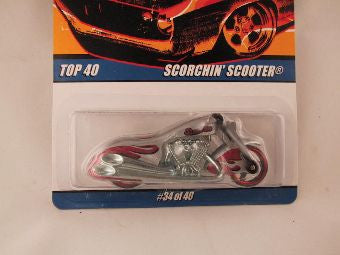 Hot Wheels Since '68 Top 40, Scorchin' Scooter