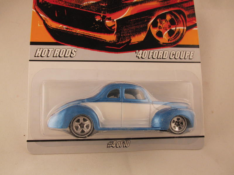 Hot Wheels Since '68 Hot Rods, '40 Ford Coupe