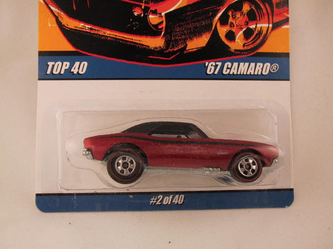 Hot Wheels Since '68 Top 40, '67 Camaro