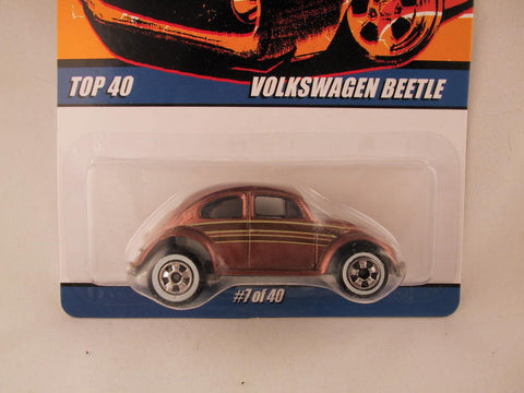 Hot Wheels Since '68 Top 40, Volkswagen Beetle