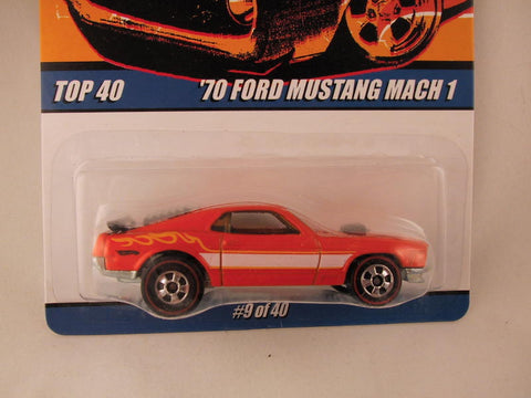 Hot Wheels Since '68 Top 40, '70 Ford Mustang Mach 1