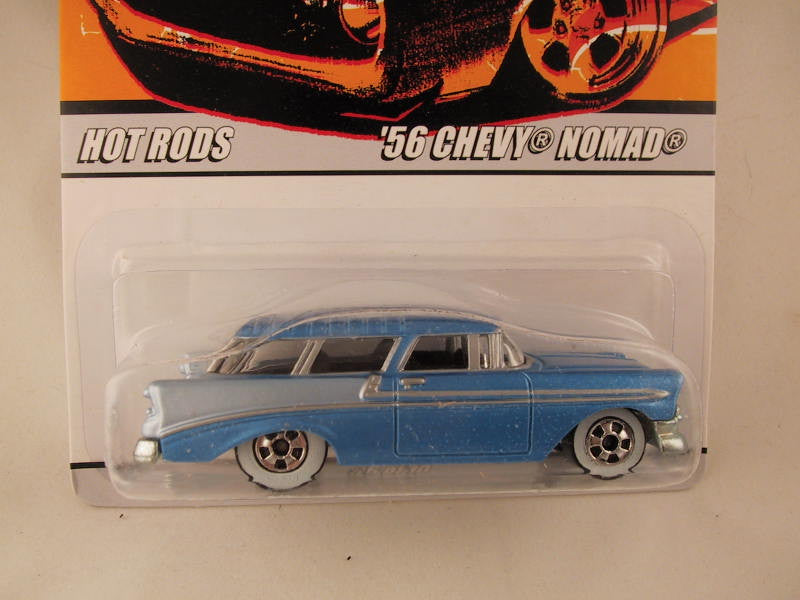 Hot Wheels Since '68 Hot Rods, '56 Chevy Nomad