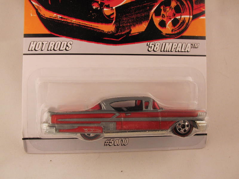 Hot Wheels Since '68 Hot Rods, '58 Impala