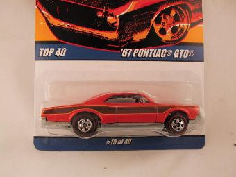 Hot Wheels Since '68 Top 40, '67 Pontiac GTO