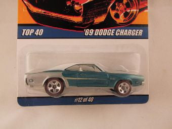 Hot Wheels Since '68 Top 40, '69 Dodge Charger