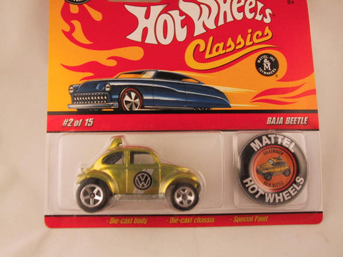 Hot Wheels Classics with Button, Baja Beetle