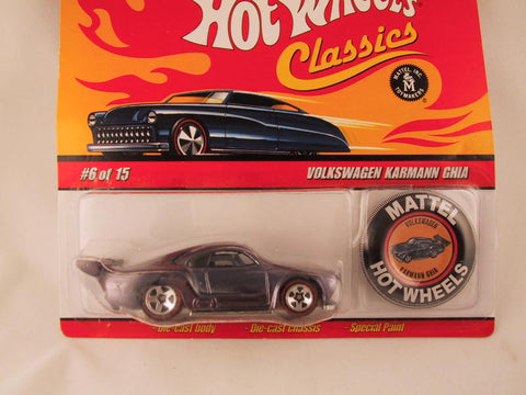 Hot Wheels Classics with Button, Volkswagen Karmann Ghia