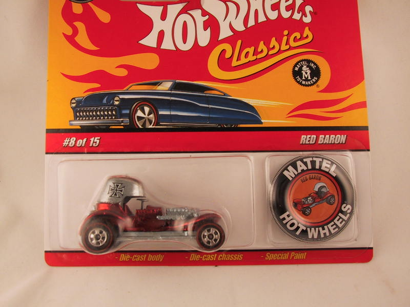 Hot Wheels Classics with Button, Red Baron