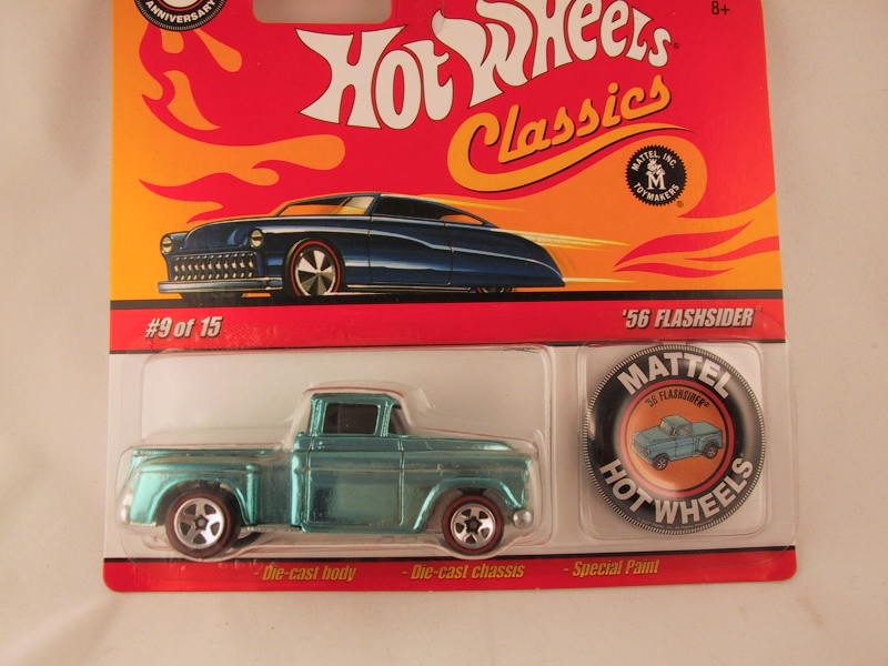 Hot Wheels Classics with Button, '56 Flashsider