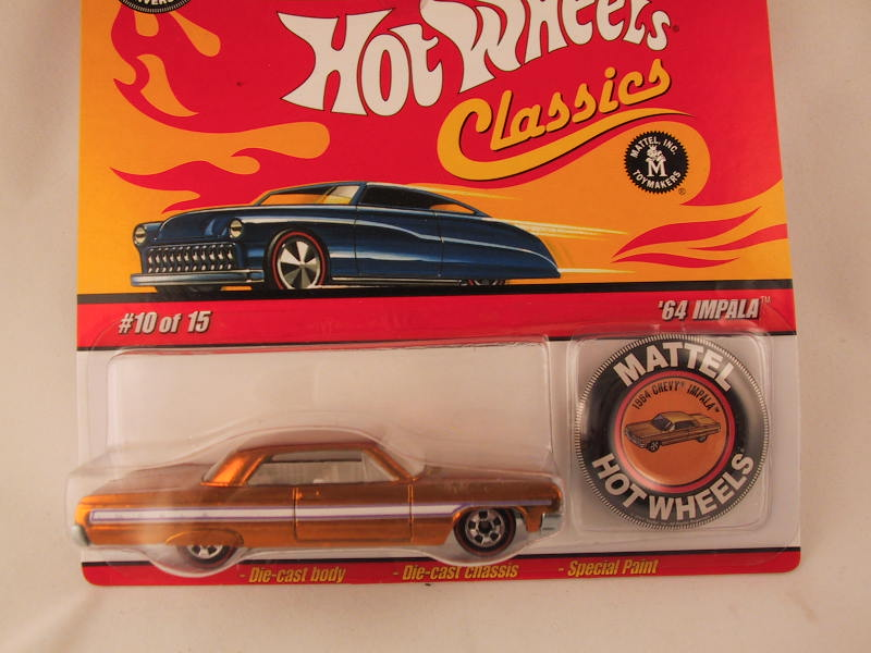Hot Wheels Classics with Button, '64 Impala