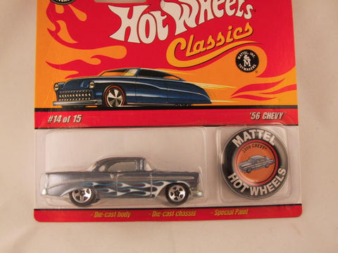 Hot Wheels Classics with Button, '56 Chevy