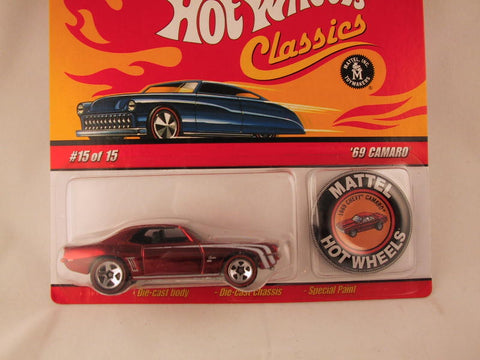 Hot Wheels Classics with Button, '69 Camaro