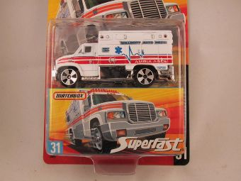 Matchbox Superfast 2006-2007, #31 Ambulance