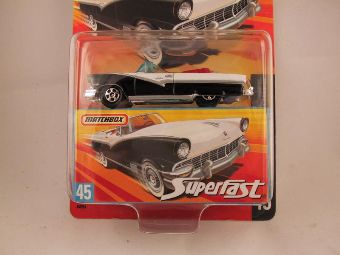 Matchbox Superfast 2006-2007, #45 1956 Ford Sunliner