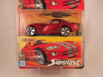 Matchbox Superfast 2006-2007, #23 Dodge Viper GTS