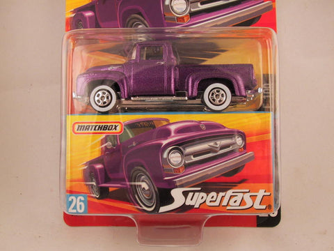 Matchbox Superfast 2006-2007, #26 1956 Ford F-100