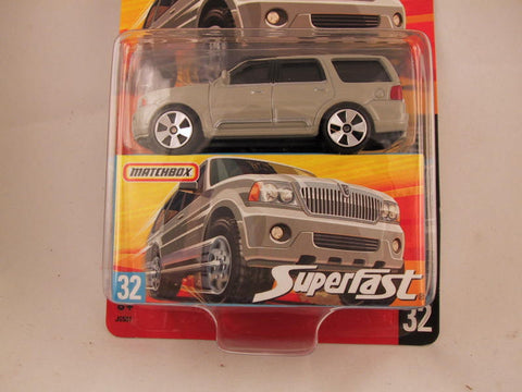 Matchbox Superfast 2006-2007, #32 Lincoln Navigator